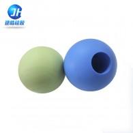 硅胶制品厂家提供环保无味圆形硅胶按摩球