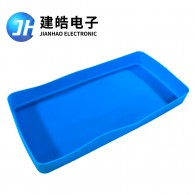 厂家定制塑料包装盒内置硅胶套 硅胶盒子开模定做生产