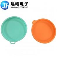 厂家定制果汁玻璃杯硅胶杯盖开模定做加工
