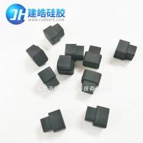 东莞硅胶制品厂家定制导电硅胶塞 黑色导电硅胶堵头