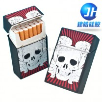 时尚高档硅胶烟盒套