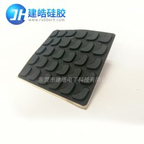 仪器设备硅胶脚垫背贴3M胶