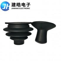 厂家定制工业仪器硅胶摇杆保护套 黑色环保柔软硅胶保护套