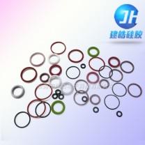 各种型号颜色O型硅胶密封圈定制—建皓硅胶