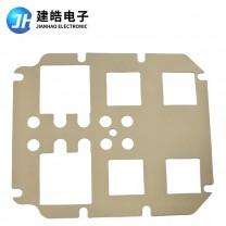 厂家定制军工机箱用导电硅胶片可冲切开模定制