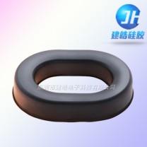 厂家提供头带耳机硅胶护套|硅胶配件定制-建皓硅胶